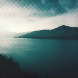 風景山湖青緑の iPad / Air / mini / Pro 壁紙