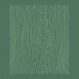 イラスト木目緑の iPad / Air / mini / Pro 壁紙