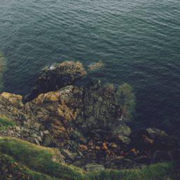 風景崖海の iPad / Air / mini / Pro 壁紙