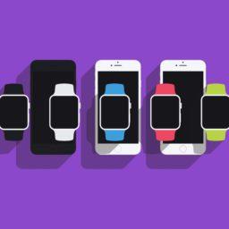 イラストiPhone Apple Watchの iPad / Air / mini / Pro 壁紙