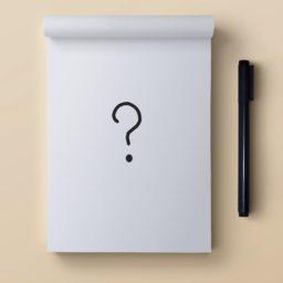 ノートペン?白の iPad / Air / mini / Pro 壁紙
