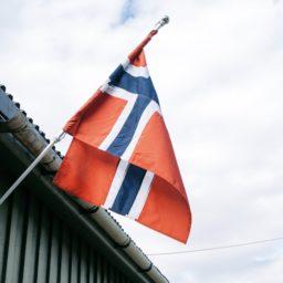国旗風景空白赤の iPad / Air / mini / Pro 壁紙