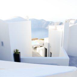風景建物白の iPad / Air / mini / Pro 壁紙