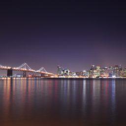 風景夜景港の iPad / Air / mini / Pro 壁紙