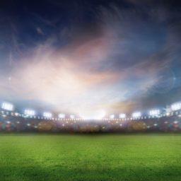 風景スタジアム緑の iPad / Air / mini / Pro 壁紙