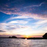 景色海太陽空