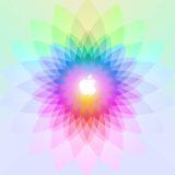 Appleロゴカラフル