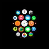 Apple Watch風黒