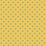 模様水玉黄