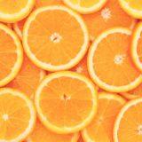 フード女子向けオレンジ