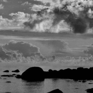 風景海の iPhone4s 壁紙