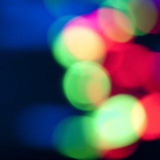 模様青緑赤の iPhone4s 壁紙