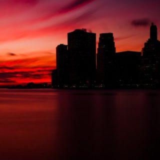 風景都会の iPhone4s 壁紙
