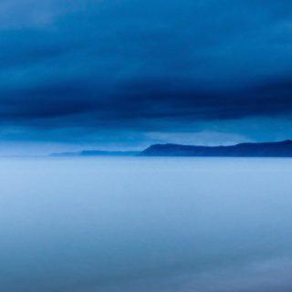 風景霧青の iPhone4s 壁紙