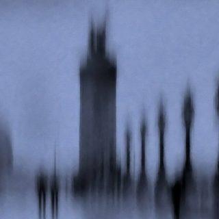 風景黒の iPhone4s 壁紙