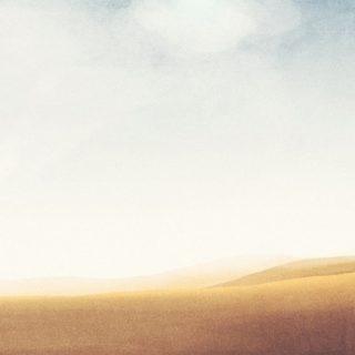風景砂漠の iPhone4s 壁紙
