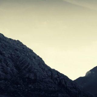 風景UFOの iPhone4s 壁紙