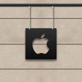 Apple白黒の iPhone4s 壁紙