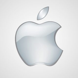 Apple白の iPhone4s 壁紙