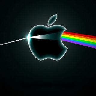 Appleスペクトルの iPhone4s 壁紙