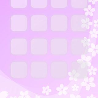 棚桜桃の iPhone4s 壁紙