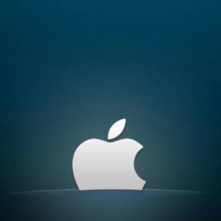 Apple青の iPhone4s 壁紙