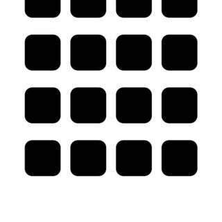 棚白黒の iPhone4s 壁紙