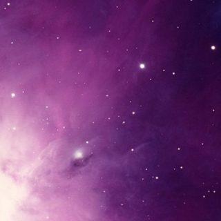 宇宙紫の iPhone4s 壁紙