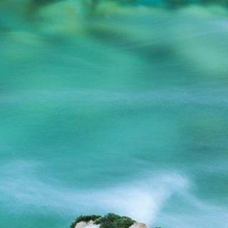 風景緑の iPhone4s 壁紙