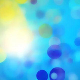 模様青黄の iPhone4s 壁紙