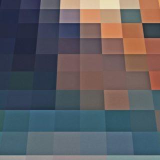 模様茶青の iPhone4s 壁紙