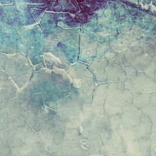 模様黒青ヒビの iPhone4s 壁紙