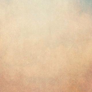 ぼかし青橙絵の iPhone4s 壁紙