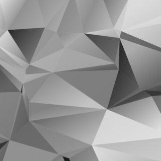 模様クール銀の iPhone4s 壁紙