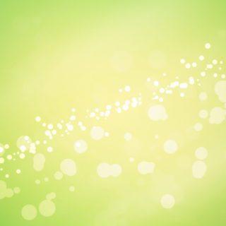 模様黄緑の iPhone4s 壁紙
