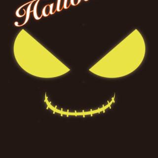 ハロウィン黒の iPhone4s 壁紙