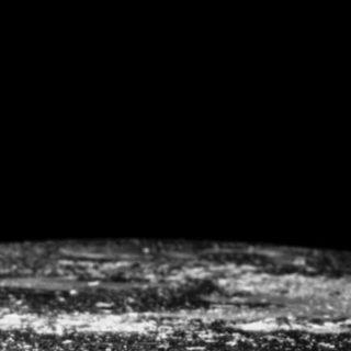 惑星モノクロの iPhone4s 壁紙