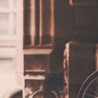 風景自転車オシャレの iPhone4s 壁紙