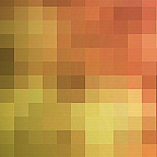模様黄橙の iPhone4s 壁紙