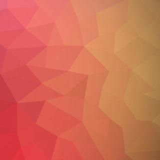模様赤橙の iPhone4s 壁紙