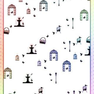 公園 フランスの iPhone5s / iPhone5c / iPhone5 壁紙