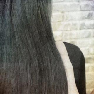 黒髪 ロングヘアの iPhone5s / iPhone5c / iPhone5 壁紙