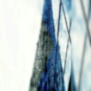 タワー ぼかしの iPhone5s / iPhone5c / iPhone5 壁紙