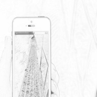 タワー スマホの iPhone5s / iPhone5c / iPhone5 壁紙