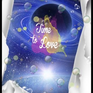 惑星 Time to Loveの iPhone5s / iPhone5c / iPhone5 壁紙