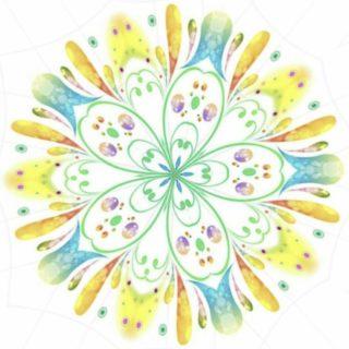 花 円の iPhone5s / iPhone5c / iPhone5 壁紙