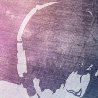 ヘッドホン 音楽の iPhone5s / iPhone5c / iPhone5 壁紙