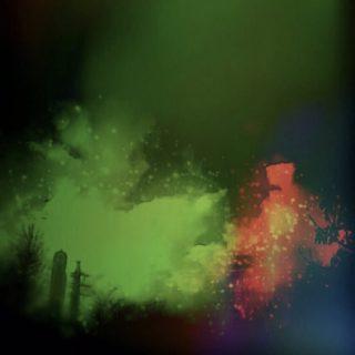 イルミネーション 夜の iPhone5s / iPhone5c / iPhone5 壁紙