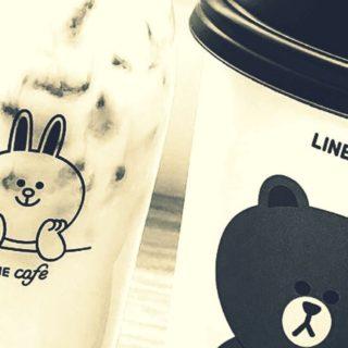 LINE カフェの iPhone5s / iPhone5c / iPhone5 壁紙