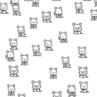 動物 イラストの iPhone5s / iPhone5c / iPhone5 壁紙